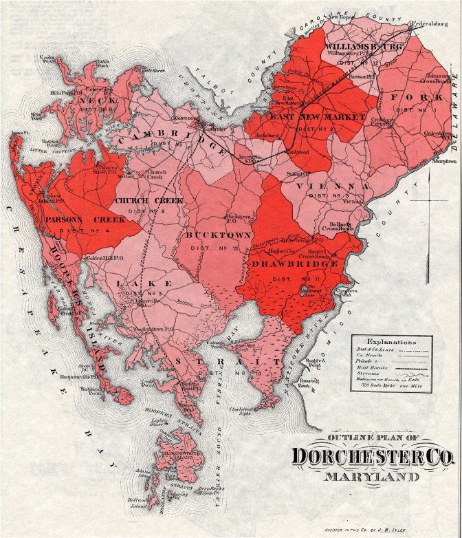 Historical Maps | Dorchester Graves